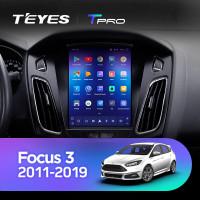 Штатная Автомагнитола Teyes TPRO на FORD Focus 3 2011-2019